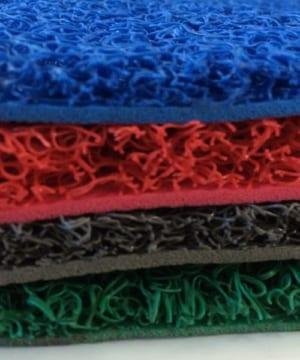 thảm để chân nhựa rối surem các màu
