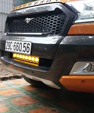 Mặt calang Ford Ranger độ kiểu ford Mustang